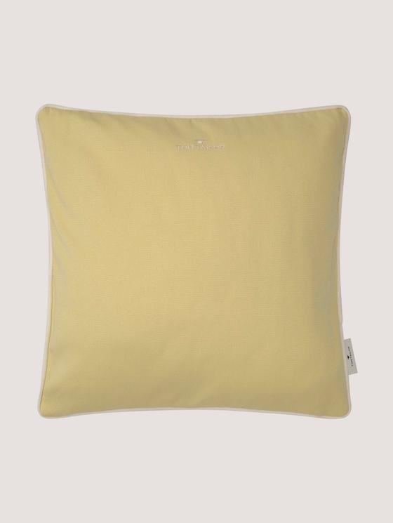 Zierkissenhülle - unisex - yellow - 7 - TOM TAILOR