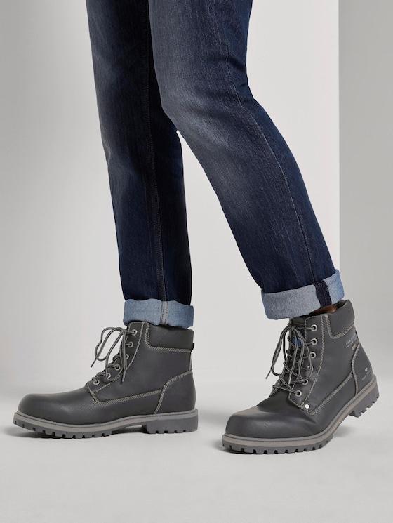 Boots - Men - black - 5 - TOM TAILOR