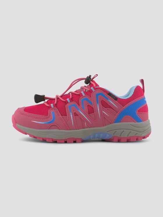 Outdoor Sneaker mit Neon-Akzenten - unisex - rose-pink-turkis - 7 - TOM TAILOR