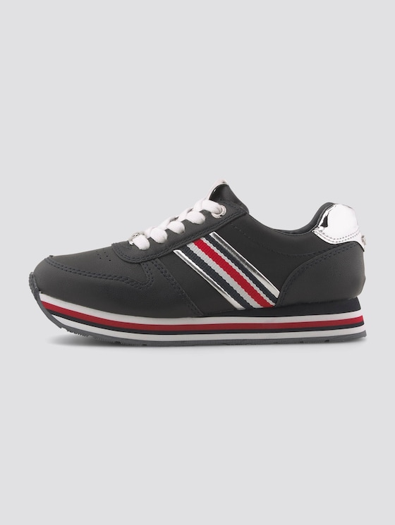 Sneakers with metallic details - unisex - navy - 1 - TOM TAILOR