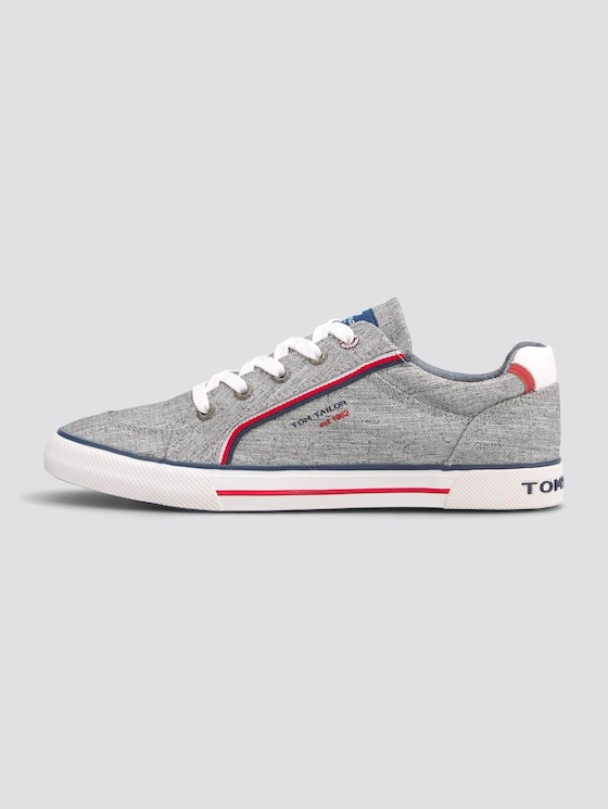 Sneaker in Melange-Optik - unisex - grey - 1 - TOM TAILOR