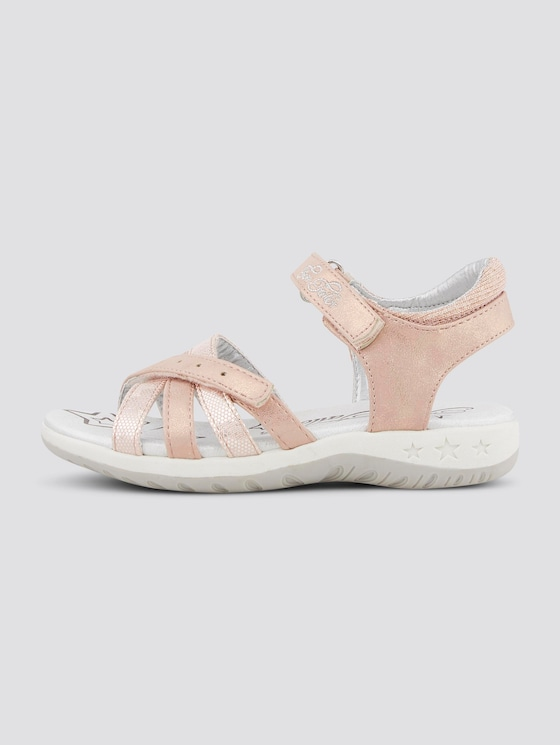 Sandalen im Metallic-Look - unisex - rose - 7 - TOM TAILOR
