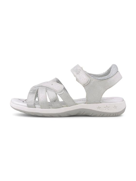 Sandalen im Metallic-Look - unisex - white - 7 - TOM TAILOR