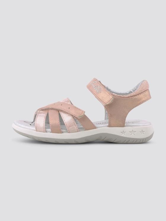 Sandalen im Metallic-Look - unisex - rose - 7 - TOM TAILOR