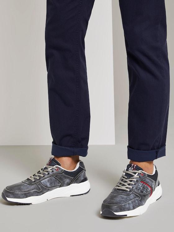 Sneaker im Muster-Mix - Männer - navy - 5 - TOM TAILOR