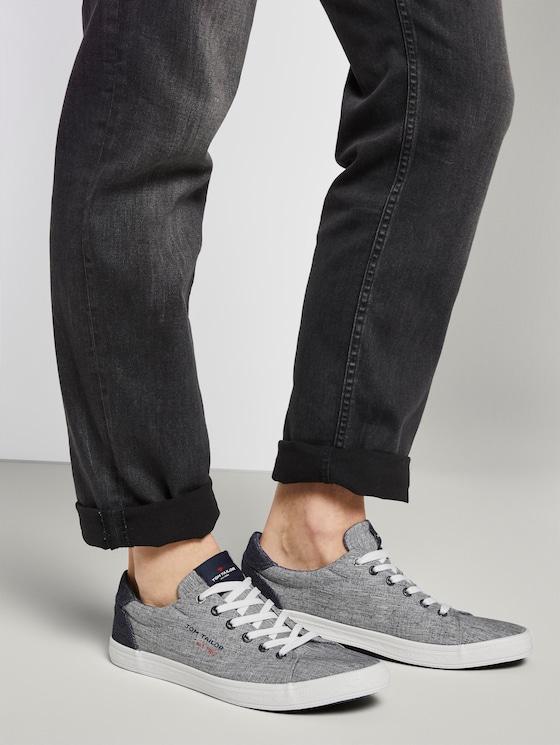 Melierter Sneaker - Männer - grey - 5 - TOM TAILOR