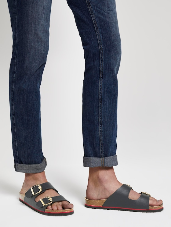 Sandalen mit Schnallenverschluss - Frauen - navy - 5 - TOM TAILOR