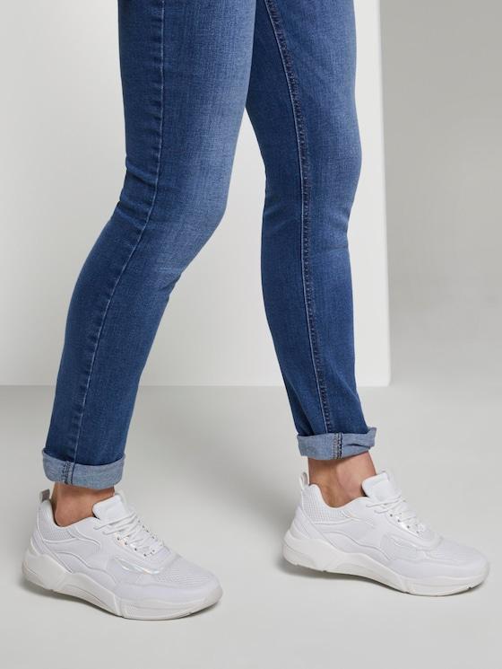 Sportlicher Sneaker mit Pastell-Details - Frauen - white uni - 5 - TOM TAILOR