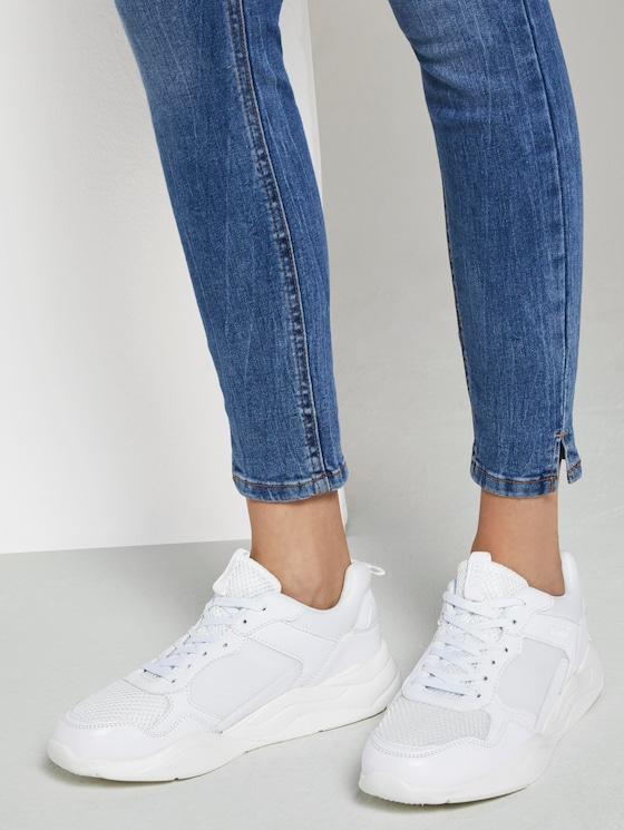 Sneakers met kleuraccent - Vrouwen - white - 5 - TOM TAILOR Denim