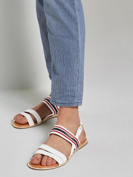 Sandalen mit Schnalle - Frauen - egg - 5 - TOM TAILOR Denim