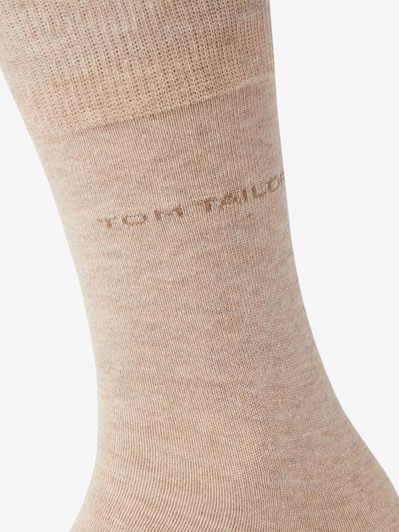 basic sokken in dubbel pak - in Sokken