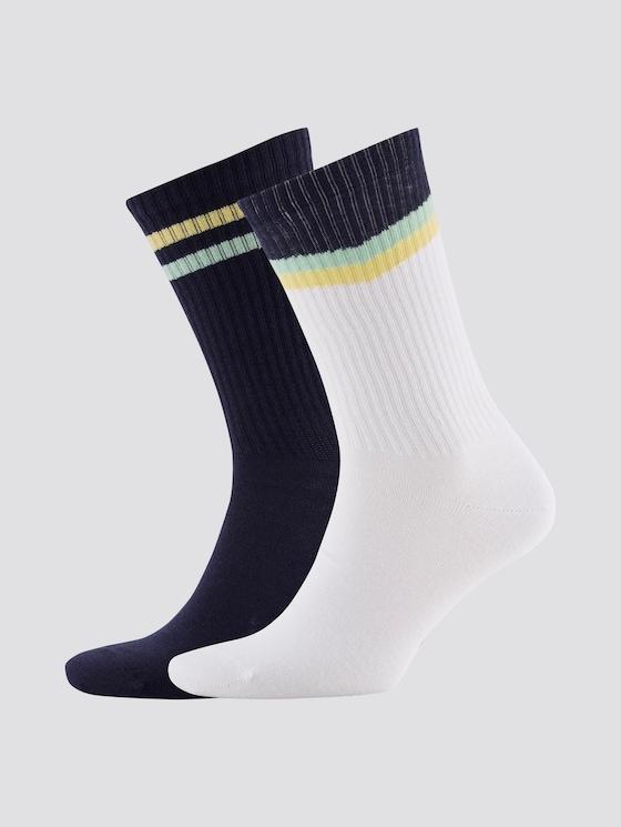 Socken im Doppelpack - Männer - blue - 7 - TOM TAILOR