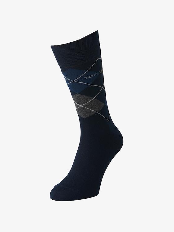 TT men's basic socks 2pcs - Men - dark navy - 1 - TOM TAILOR