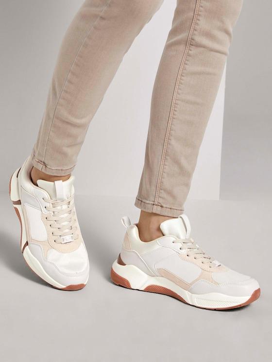 Sneaker - Frauen - offwhite - 5 - TOM TAILOR