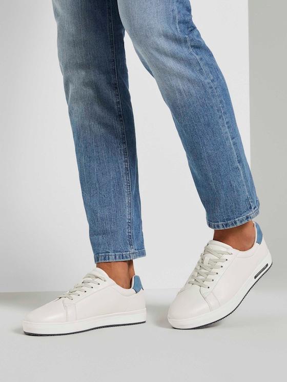 Basic Sneaker - Männer - offwhite - 5 - TOM TAILOR