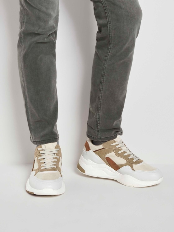 Casual Sneaker - Männer - offwhite - 5 - TOM TAILOR