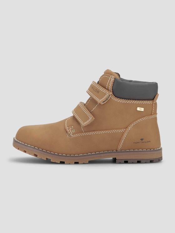 Boots mit Klettverschluss - unisex - camel - 7 - TOM TAILOR