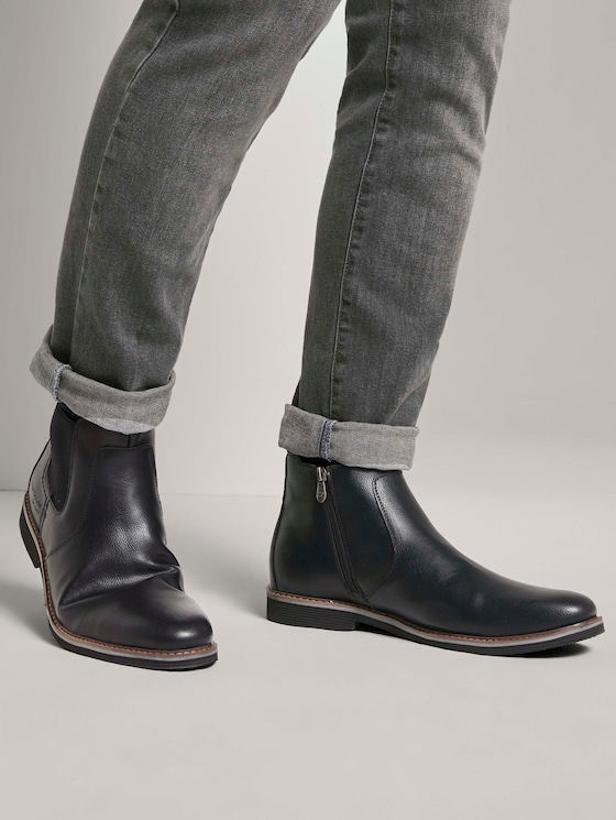 Chelsea Boots - Männer - black - 5 - TOM TAILOR
