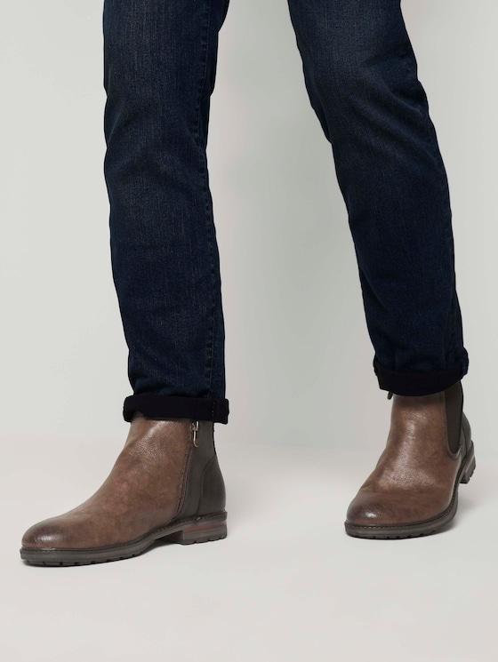 Chelsea Boots - Männer - nuts - 5 - TOM TAILOR