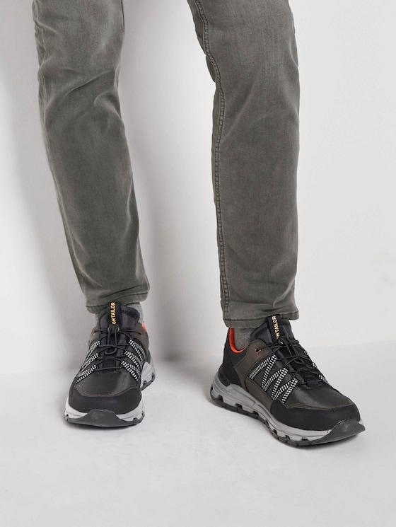 Trekking Sneaker - Männer - black-khaki - 5 - TOM TAILOR