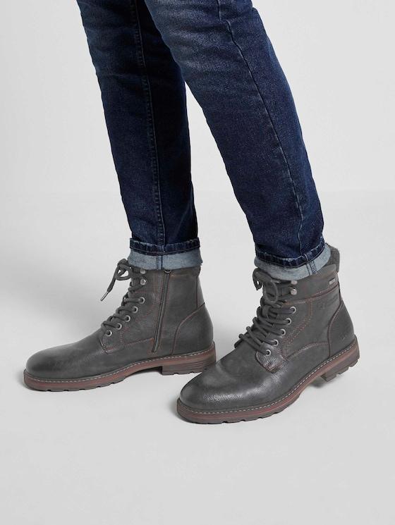 Chelsea Boots mit Schnallen - Männer - black - 5 - TOM TAILOR Denim