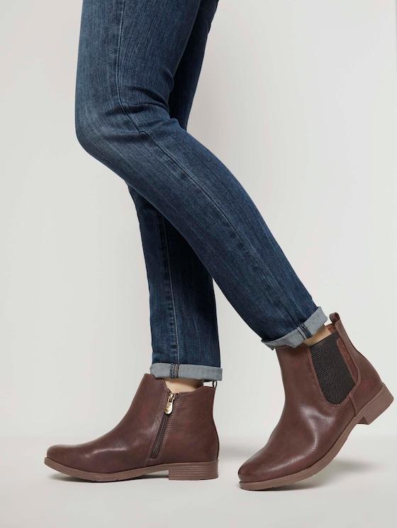 Chelsea Boots - Frauen - cognac - 5 - TOM TAILOR