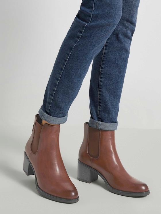 Chelsea Ankle Boots - Frauen - cognac - 5 - TOM TAILOR Denim