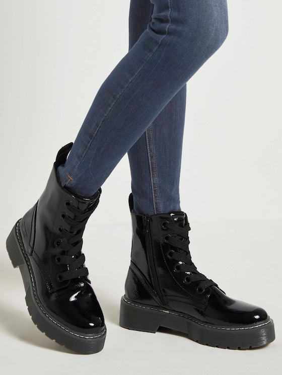 Schnürboots - Frauen - black - 5 - TOM TAILOR Denim