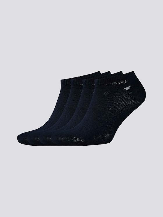 Viererpack Sneaker Socken - unisex - dark navy - 7 - TOM TAILOR