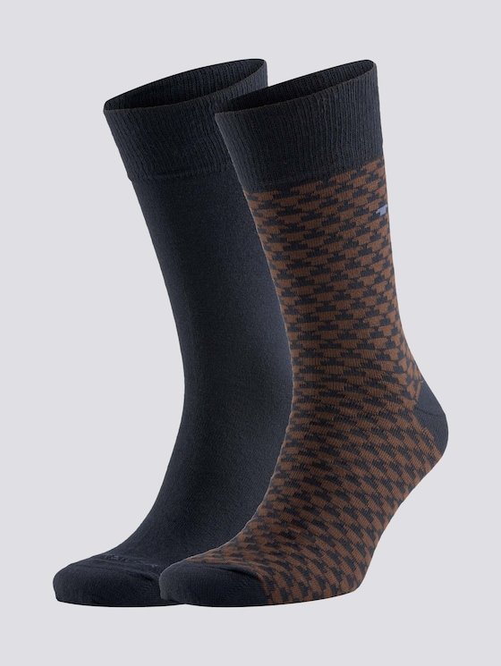 socks in a double pack - Men - dark navy - 7 - TOM TAILOR