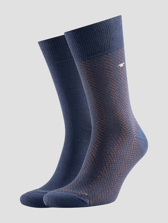 socks in a double pack - Men - insignia blue - 7 - TOM TAILOR
