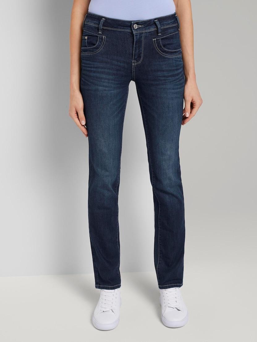 top design classic style catch Alexa Straight Jeans